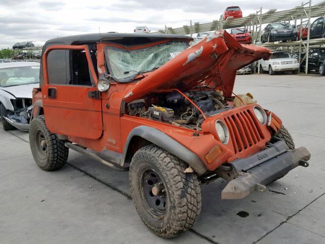Salvage 2006 Jeep WRANGLER for sale
