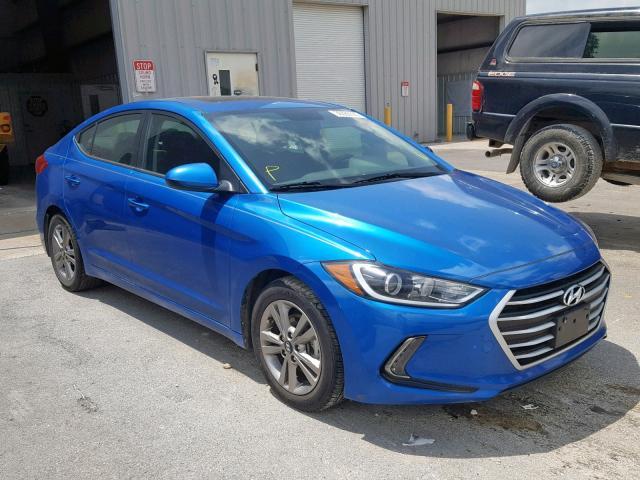 Salvage cars for sale at Rogersville, MO auction: 2017 Hyundai Elantra SE