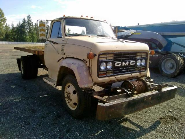 Salvage 1969 GMC 5500 for sale