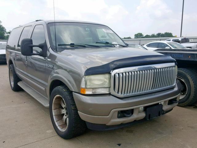 2003 Ford Excursion Limited Photos Tx Dallas South Salvage Car