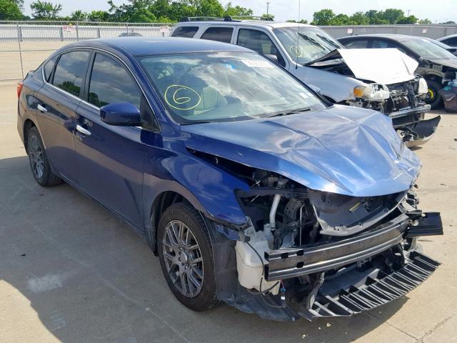 2016 NISSAN SENTRA S Photos | TX - DALLAS SOUTH - Salvage Car