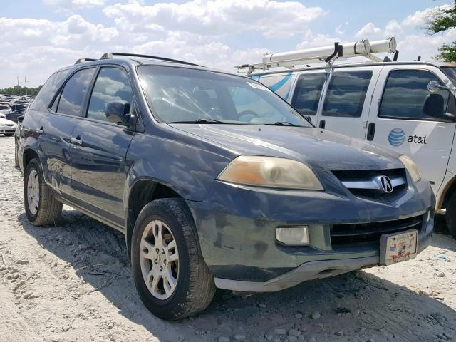 Salvage 2005 Acura MDX TOURING for sale
