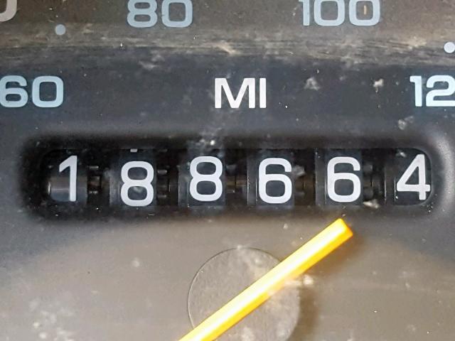 1992 Dodge Ram Van B350