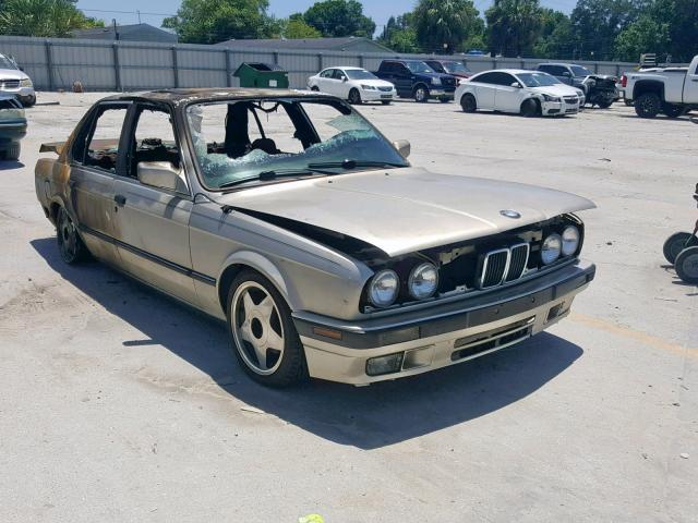 Salvage 1987 BMW 325 E AUTOMATIC for sale