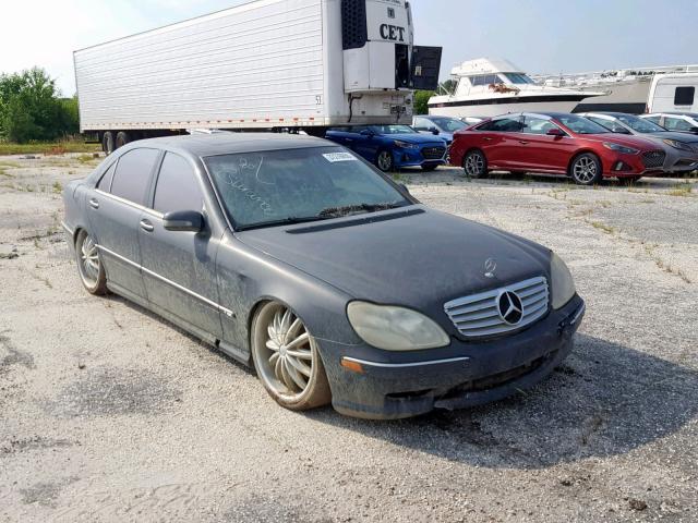 Vehiculos salvage en venta de Copart Lumberton, NC: 2002 Mercedes-Benz S 600