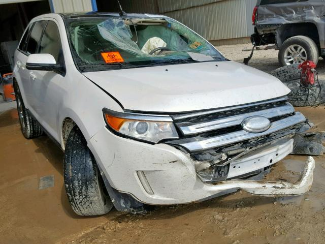 Salvage cars for sale from Copart San Antonio, TX: 2013 Ford Edge SEL