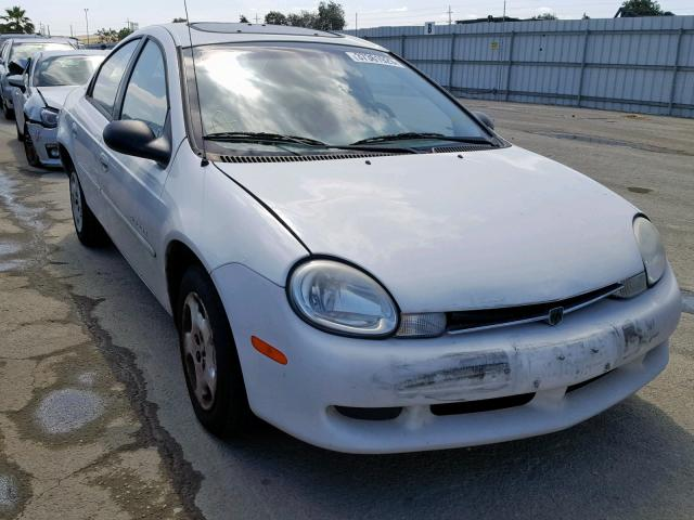 Salvage 2001 Dodge NEON SE for sale