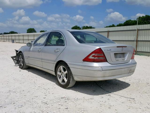2004 Mercedes Benz C 240 2 6l 6 For Sale In New Braunfels Tx Lot 36731749