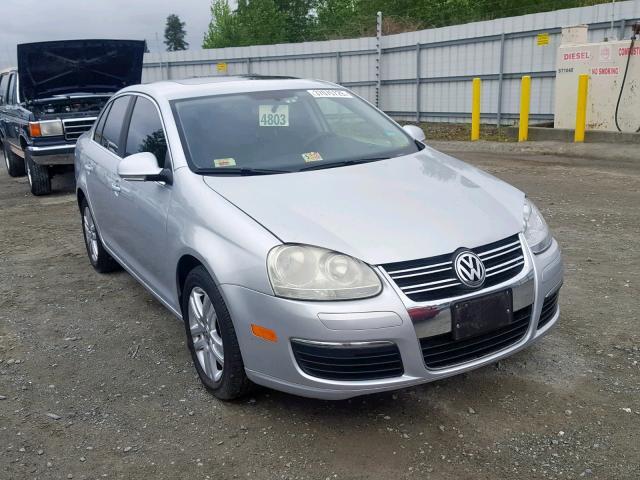 Salvage 2007 Volkswagen JETTA 2.5 for sale