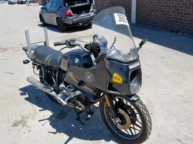 Salvage 1982 BMW R100 RT for sale
