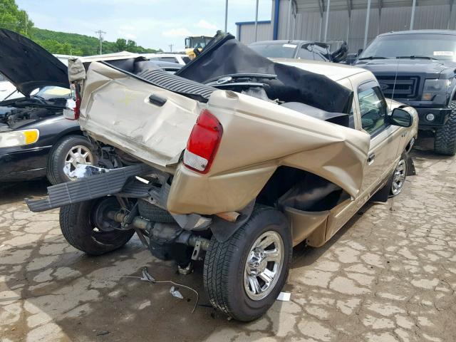2000 FORD RANGER SUP - Right Rear View
