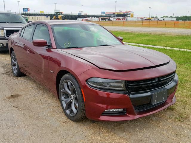 Salvage 2018 Dodge CHARGER R for sale