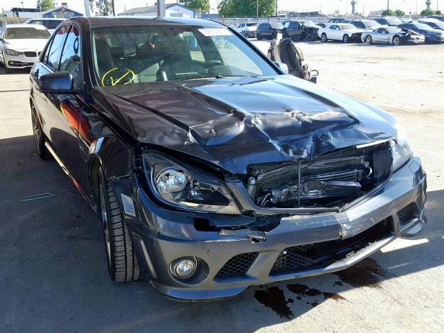 Salvage 2010 Mercedes-Benz C 63 AMG for sale