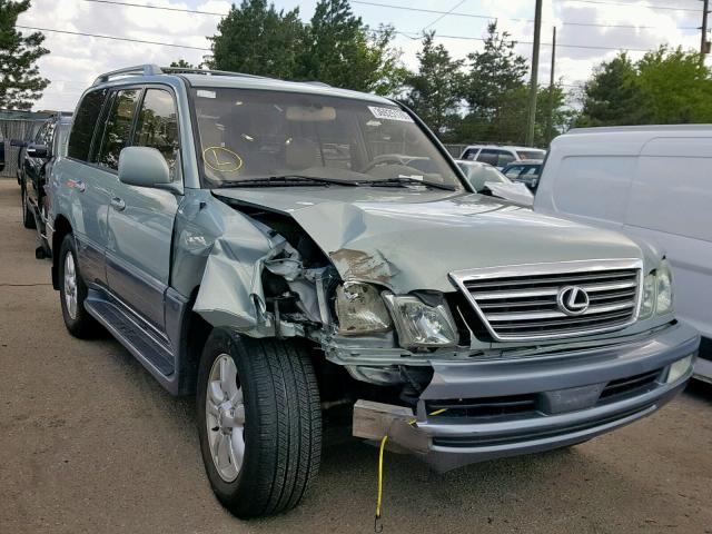 Lexus salvage cars for sale: 2003 Lexus LX 470