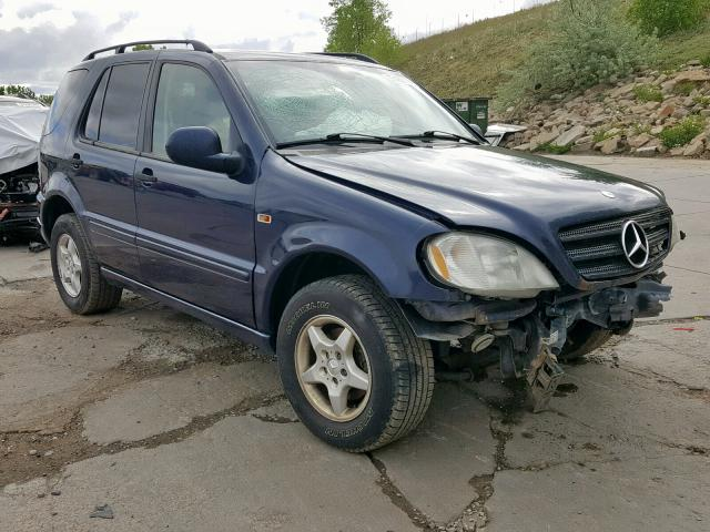 Salvage 2001 Mercedes-Benz ML 320 for sale