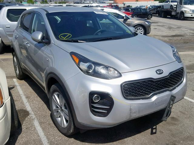 Salvage 2017 KIA SPORTAGE L for sale