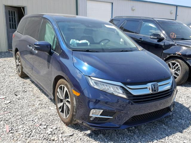 Salvage 2019 Honda ODYSSEY EL for sale