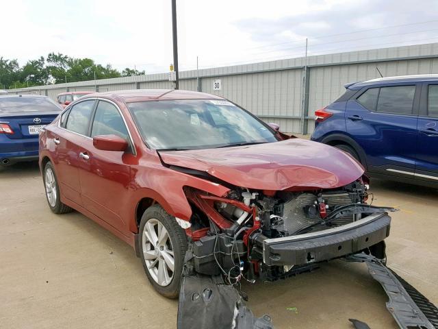 2015 NISSAN ALTIMA 2 5 Photos | TX - DALLAS SOUTH - Salvage Car