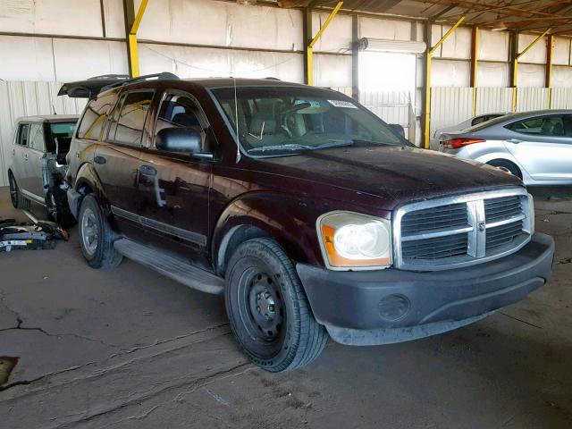 Salvage 2005 Dodge DURANGO ST for sale