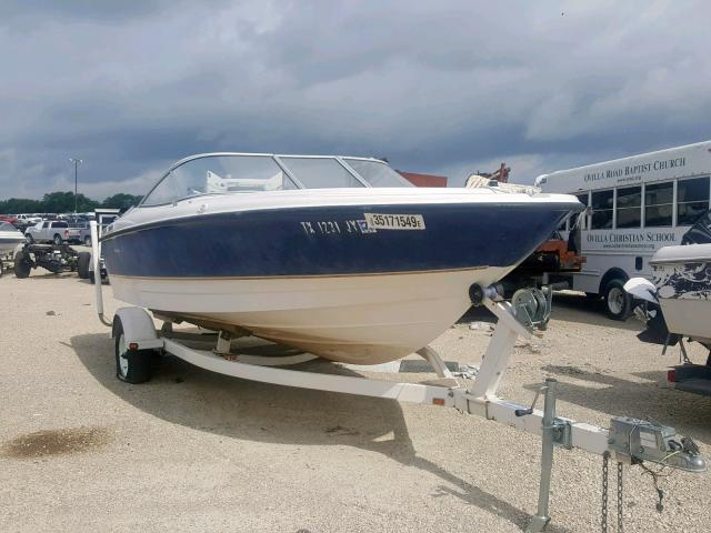 Bayliner salvage cars for sale: 2003 Bayliner Boat