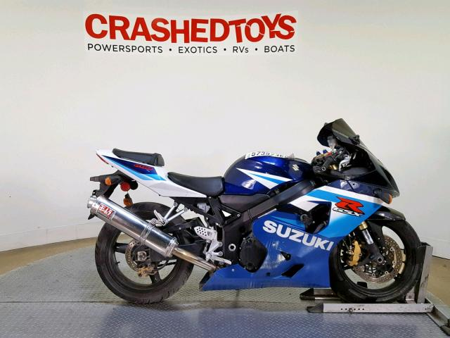 click here to view 2005 SUZUKI GSX-R600 K at IBIDSAFELY