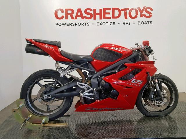 click here to view 2009 TRIUMPH MOTORCYCLE DAYTONA 67 at IBIDSAFELY