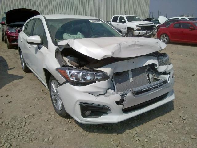 Salvage 2018 Subaru IMPREZA PR for sale