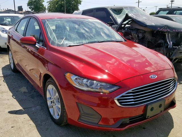 2019 Ford Fusion Se 2 0l 4 In Ca Los Angeles