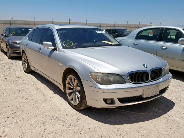 BMW Vehiculos salvage en venta: 2007 BMW 750