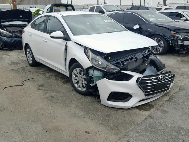 Salvage 2019 Hyundai ACCENT SE for sale