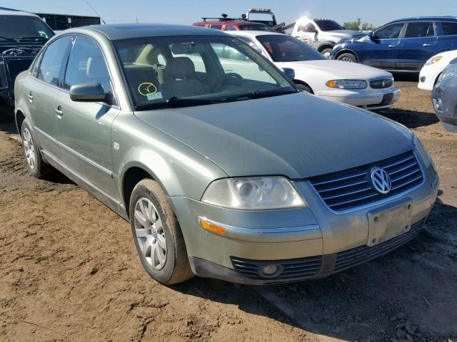 2002 Volkswagen Passat Gls 1.8L