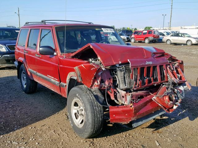 1999 Jeep Cherokee S 4 0L 6 for Sale in Indianapolis IN - Lot: 37941269