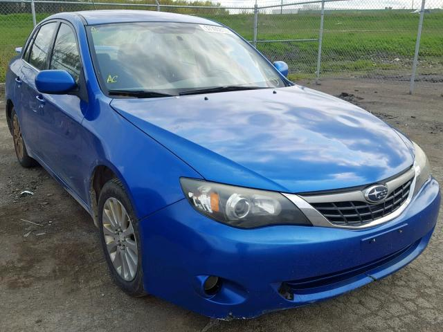 Salvage 2008 Subaru IMPREZA 2 for sale