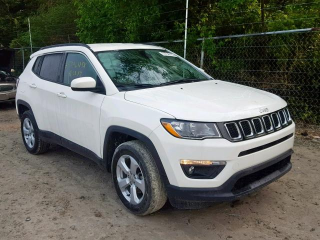 Salvage Certificate 2018 Jeep Compass La 2 4L 4 For Sale in Windsor