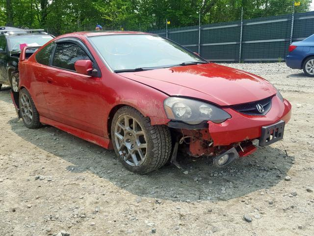 Acura Rsx For Sale >> Salvage Title 2004 Acura Rsx Hatchbac 2 0l 4 For Sale In Candia Nh