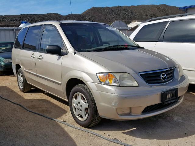 2000 Mazda Mpv Wagon 2.5L