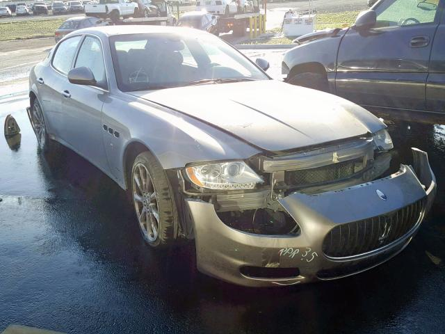 click here to view 2010 MASERATI QUATTROPOR at IBIDSAFELY