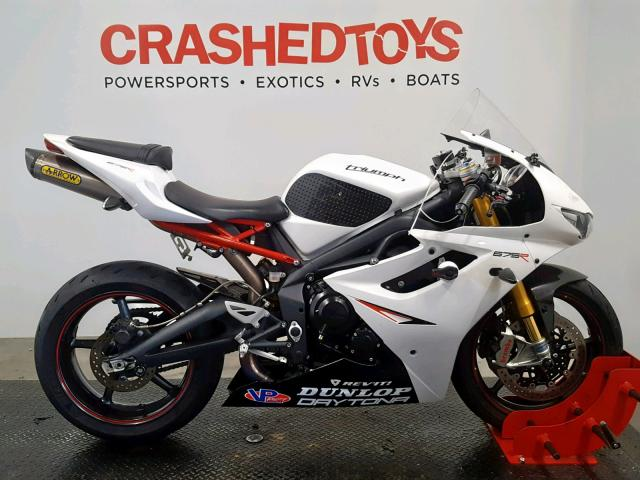 click here to view 2012 TRIUMPH MOTORCYCLE DAYTONA 67 at IBIDSAFELY