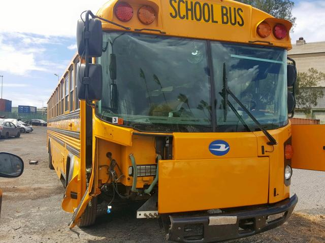 Salvage 2018 Blue Bird SCHOOL BUS for sale