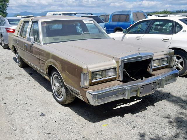 click here to view 1986 LINCOLN TOWN CAR at IBIDSAFELY