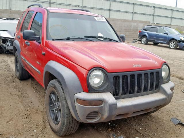 click here to view 2004 JEEP LIBERTY SP at IBIDSAFELY
