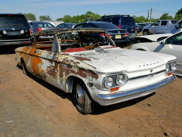 Chevrolet Corvair salvage cars for sale: 1964 Chevrolet Corvair