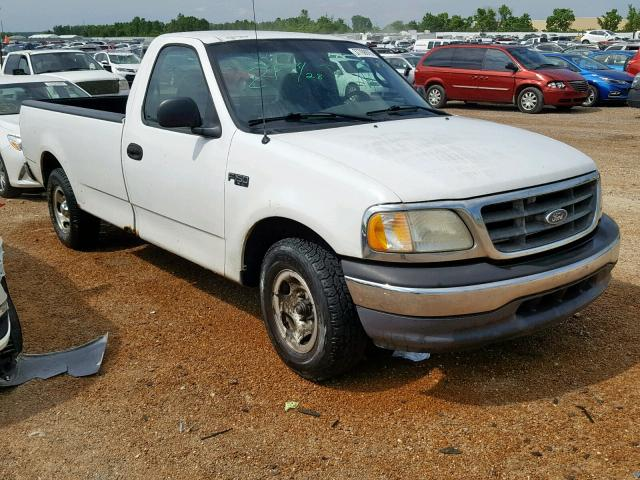 Salvage 2001 Ford F150 for sale