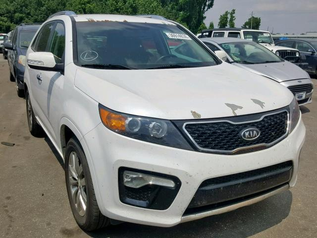 Salvage cars for sale from Copart Dunn, NC: 2012 KIA Sorento SX