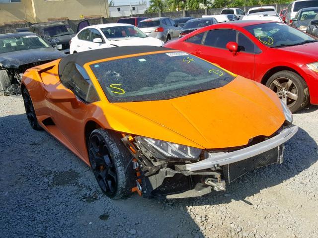Salvage Lamborghini For Sale