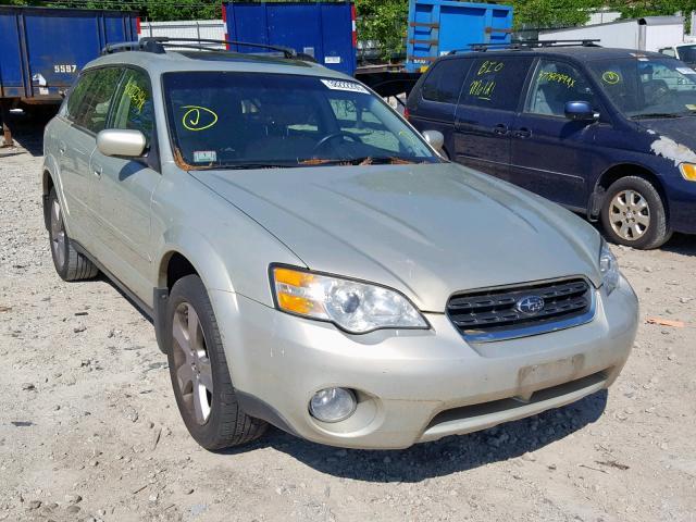 Salvage 2007 Subaru OUTBACK OU for sale