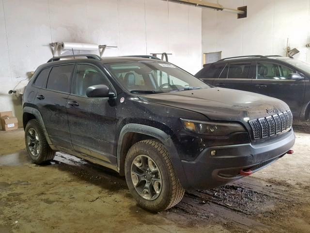 Salvage 2019 Jeep CHEROKEE T for sale