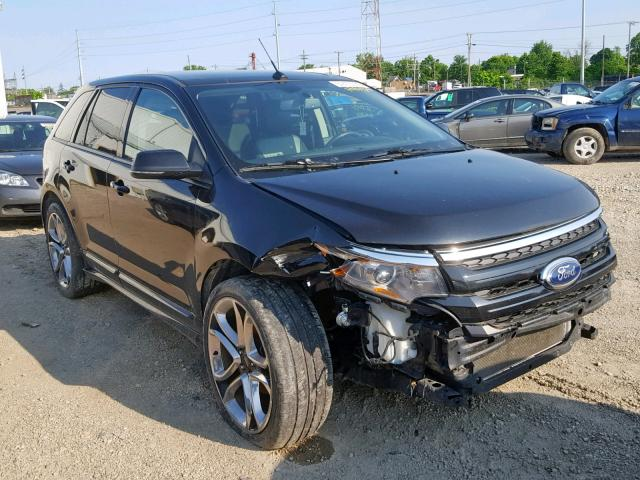 Salvage 2014 Ford EDGE SPORT for sale