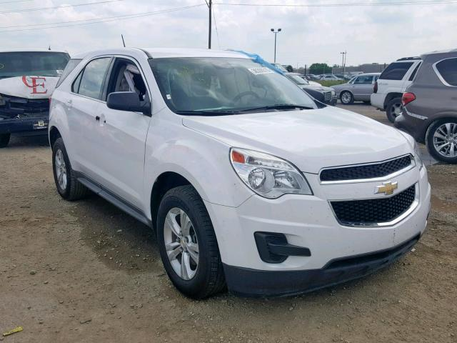 Salvage 2014 Chevrolet EQUINOX LS for sale