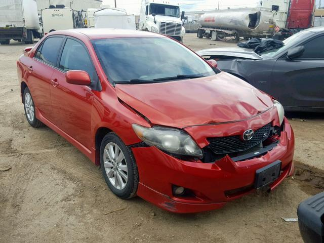 Salvage cars for sale from Copart Casper, WY: 2010 Toyota Corolla BA